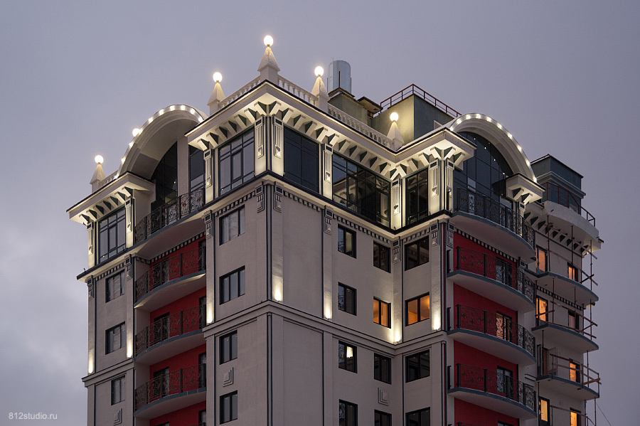 фотосъемка архитектуры